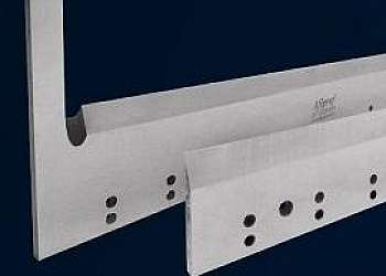 Afiação de facas metalúrgicas