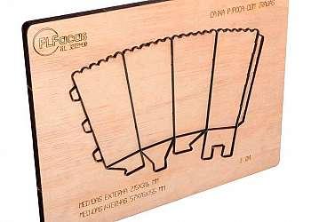 Faca corte e vinco caixa forminhas